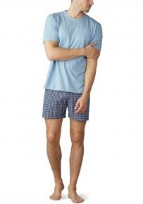 Короткая мужская пижама Mey 10970