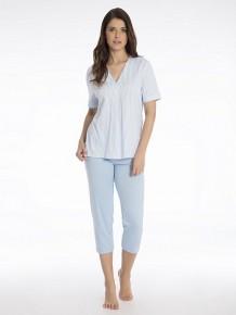 Пижама с коротким рукавом Mey 13091