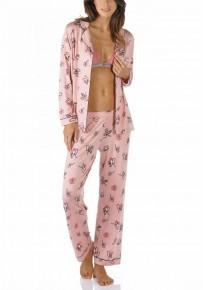 Пижама длинная Mey Fleur 16772