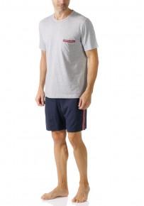 Короткая мужская пижама Mey 16870