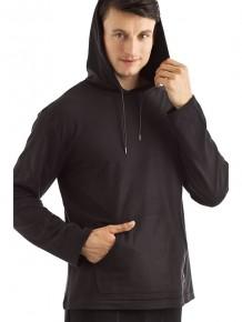 Пуловер с капюшоном Mey 21896