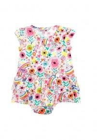 Платье для девочки с трусиками на 1 год Boboli 237080