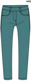Boboli Леггинсы для девочки 497022-4460 Изумруд 104 см