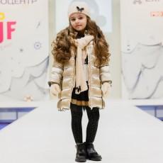Куртка Парка для девочки Boboli 726487-GOLD
