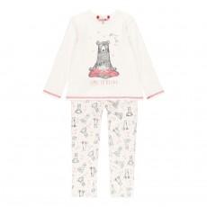 BOBOLI Пижама трикотажная для девочки 921024