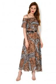 Платье из шифона Caterina Leman SU 9760 B-644
