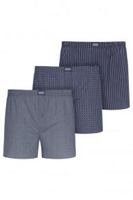 Трусы-шорты хлопковые (3 шт.) Jockey 315600-499 Синий