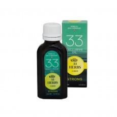 Эфирное масло «33 ТРАВЫ» Strong с ароматом мяты и эвкалипта